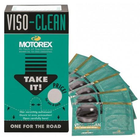 LINGETTES POUR CASQUE MOTOREX VISO CLEAN