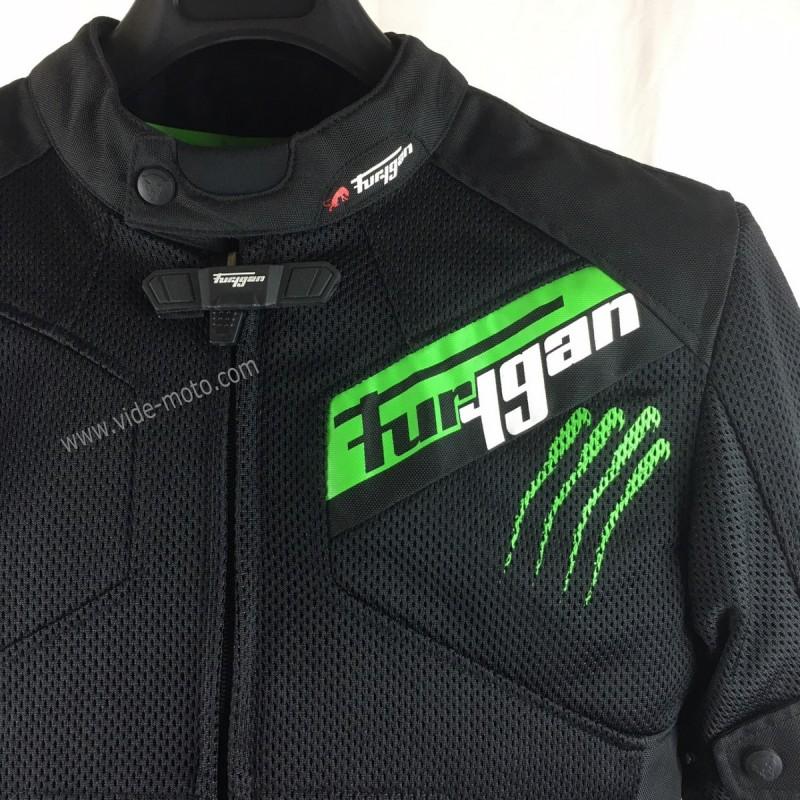 Réf1760 Vide m Blouson Furygan T Moto Hurricane Vented F1TJc3lK