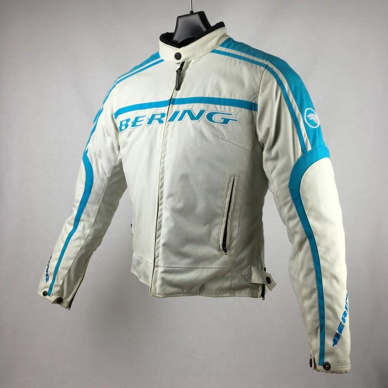 Et Blouson Femme com T Steel Bleu Vide Blanc Lady Bering 1 Moto Moto ZqHqxwft