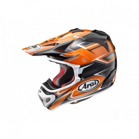 CASQUE ARAI MX-V SLY ORANGE