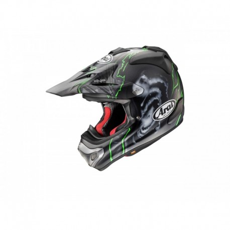 CASQUE ARAI MX-V BARCIA GREEN
