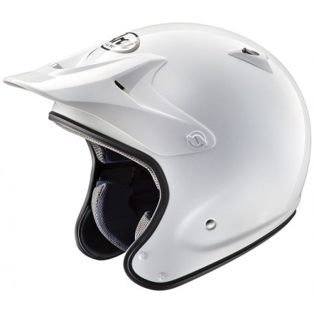 CASQUE ARAI PENTA PRO WHITE - SANS PROTECTION