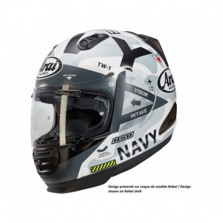 CASQUE ARAI CHASER-X NAVY WHITE