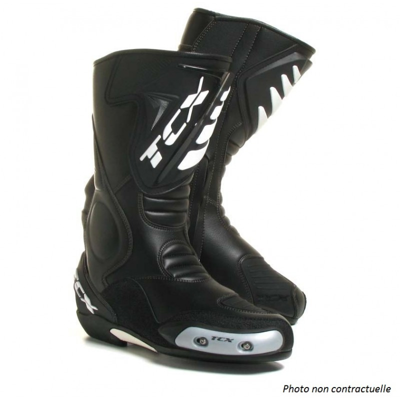 VUE FABRICANT NEUF , BOTTES RACING TCX SS SPORT NOIRES