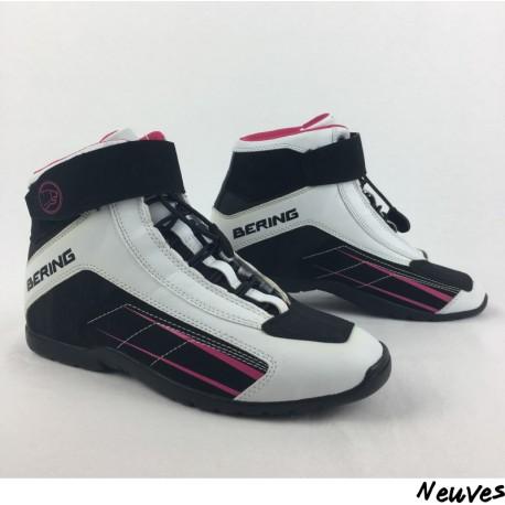 36 Moto Rose Lady com Moto Bering Baskets Azur Femme Réf1075 P Vide URHwSf