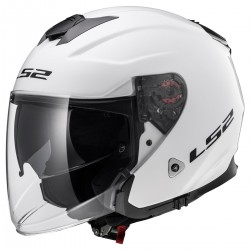 CASQUE LS2 OF521 INFINITY GLOSS WHITE