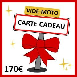 170 € - CARTE CADEAU VIDE-MOTO