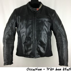 BLOUSON CUIR DAINESE GIACCA CAGE T.56