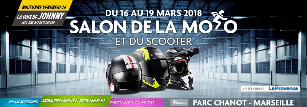 Bandeau salon de la moto de Marseille 2018