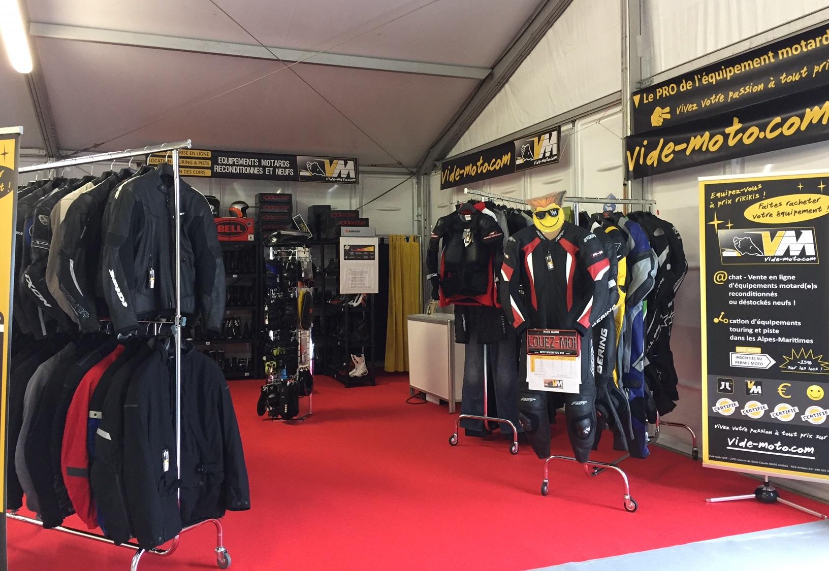 Stand Vide-moto Salon de la moto