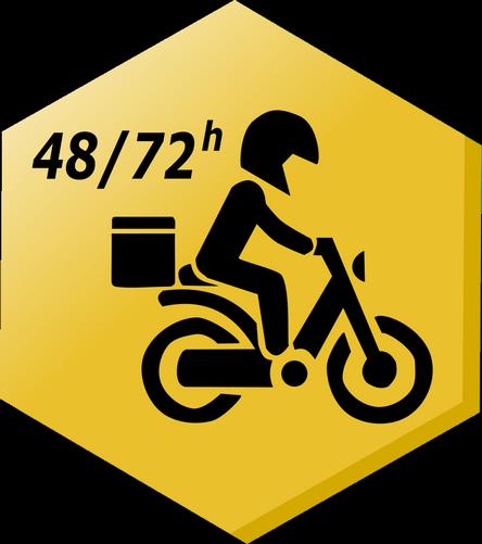 Livraison 48/72h vide-moto