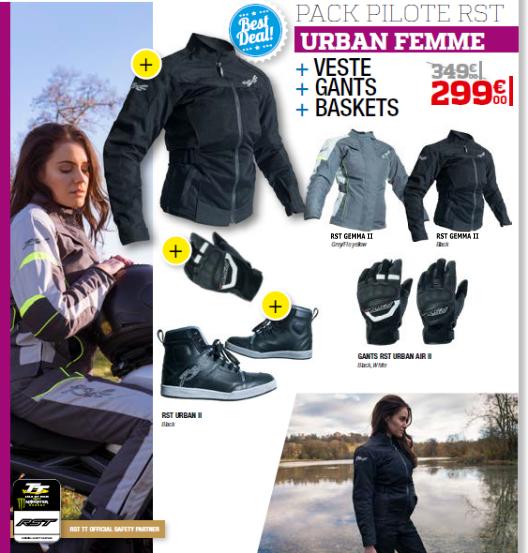 Pack RST Urban femme