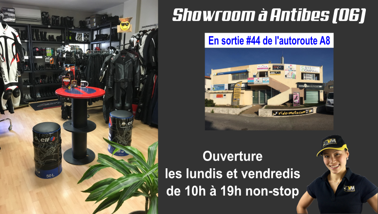 Showroom Vide-moto à Antibes