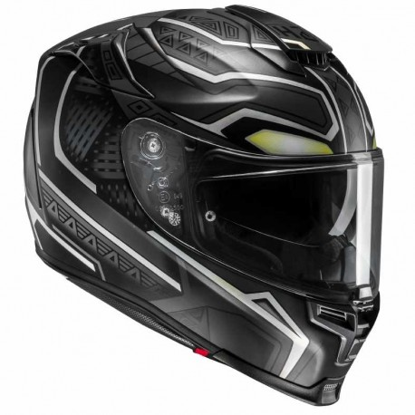 CASQUE HJC RPHA 70 BLACK PANTHER MARVEL MC5SF