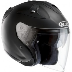 CASQUE HJC FG-JET RUBBERTON BLACK