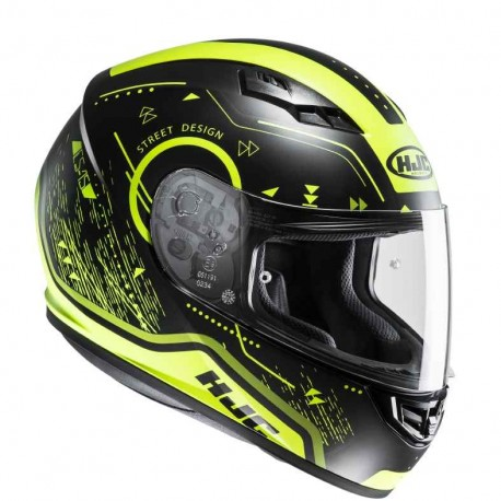 CASQUE HJC CS-15 SAFA MC4HSF