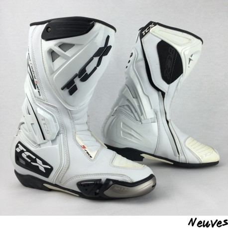 BOTTES RACING TCX S-RACE BLANCHES P.38