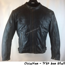 BLOUSON HELSTONS CUIR SONIC PERFORE T.L