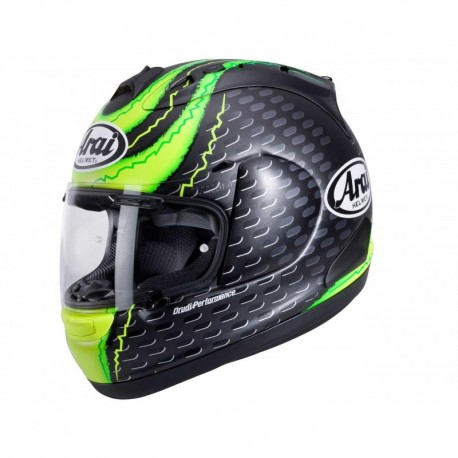 CASQUE ARAI RX-7V CRUTCHLOW YELLOW