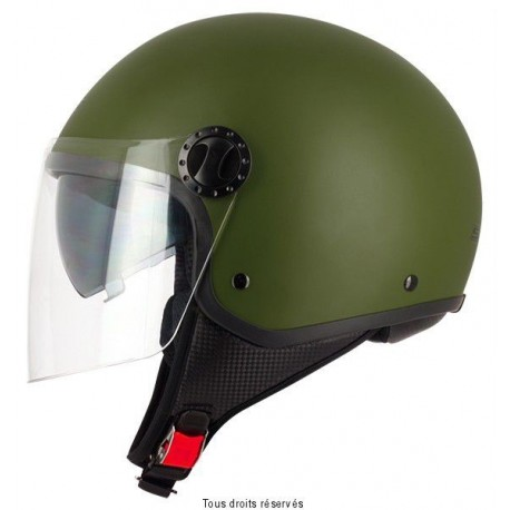 CASQUE S-LINE JET S706 GREEN ARMY