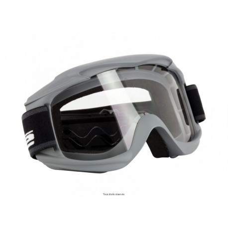 MASQUE S-LINE CROSS PRO MX GRIS MAT