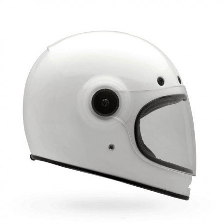 CASQUE BELL BULLIT SOLID BLANC