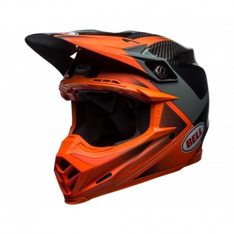 CASQUE BELL MOTO-9 FLEX HOUND ORANGE/CHARCOAL