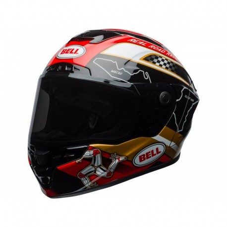 CASQUE BELL STAR MIPS ISLE OF MAN NOIR/OR