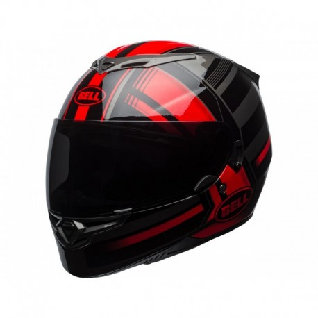 CASQUE BELL RS2 TACTICAL ROUGE/NOIR
