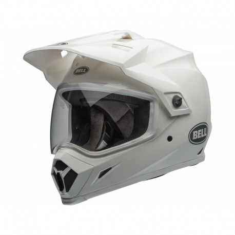 CASQUE BELL MX-9 ADVENT. SOLID BLANC