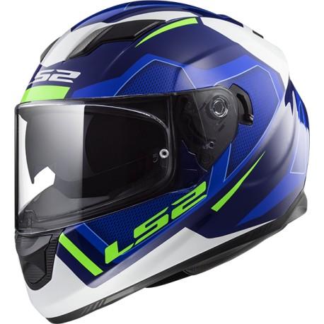 CASQUE LS2 FF320 STREAM EVO AXIS BLUE WHITE