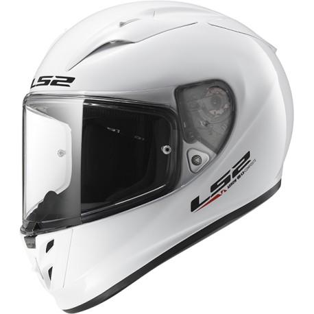 CASQUE LS2 FF323 ARROW R EVO GLOSS WHITE
