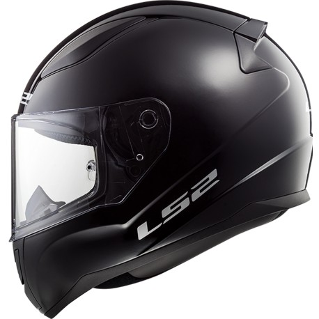 CASQUE LS2 FF353 RAPID SINGLE MONO GLOSS BLACK