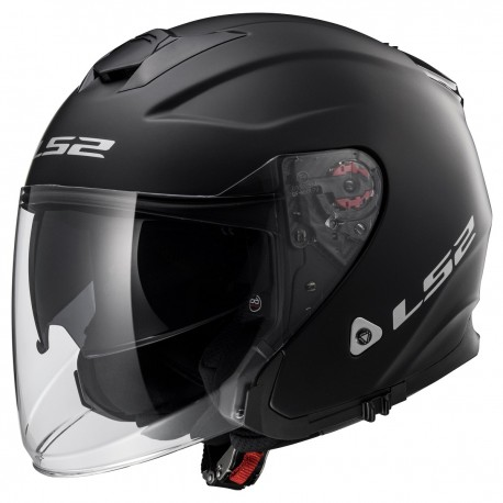 CASQUE LS2 OF521 INFINITY MATT BLACK