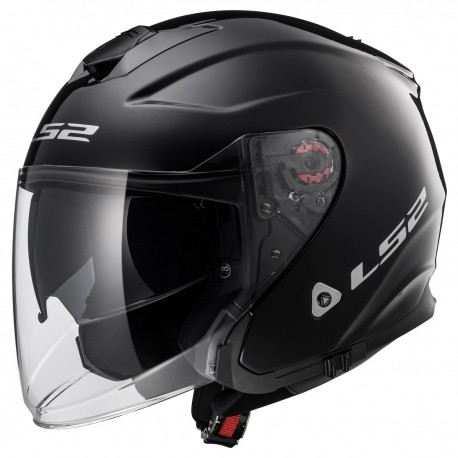 CASQUE LS2 OF521 INFINITY GLOSS BLACK