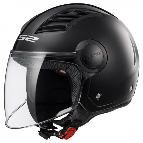 CASQUE LS2 OF562 AIRFLOW GLOSS BLACK LONG