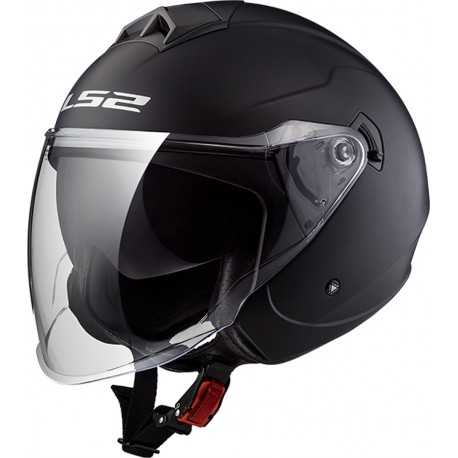 CASQUE LS2 OF573 TWISTER SINGLE MONO MATT BLACK