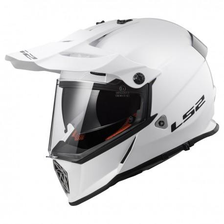 CASQUE LS2 MX436 PIONEER GLOSS WHITE