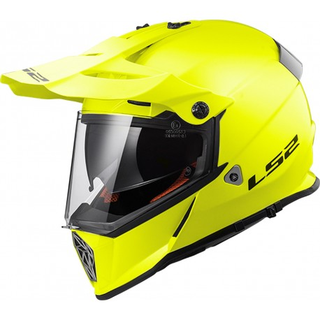 CASQUE LS2 MX436 PIONEER GLOSS HI-VIS YELLOW
