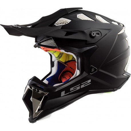 CASQUE LS2 MX470 SUBVERTER SINGLE MONO MATT BLACK