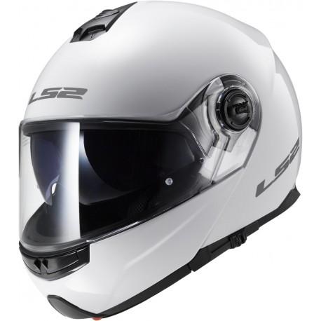 CASQUE LS2 FF325 STROBE GLOSS WHITE