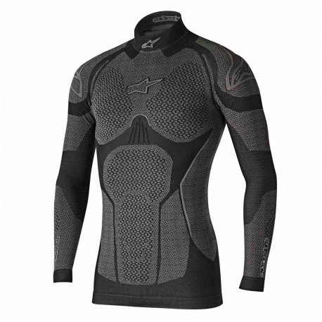 MAILLOT ALPINESTARS RIDE TECH WINTER ML NOIR/GRIS