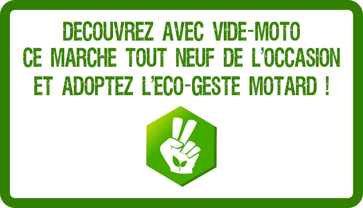 Eco-geste motard